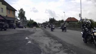 moto Lužany 2014 spanilá jízda