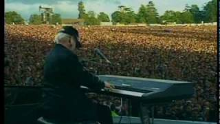 Elton John at Knebworth (Mark Knopfler on guitar)