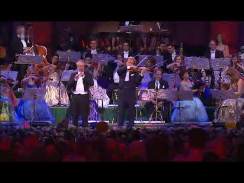 Andre Rieu & Australian Pipe Band Scotland the Brave & Amazing Grace 2008