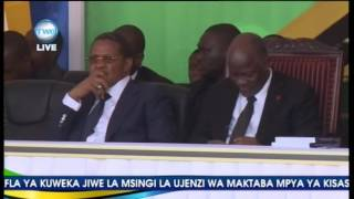 Ndalichako azungumza UDSM uwekaji jiwe la msingi