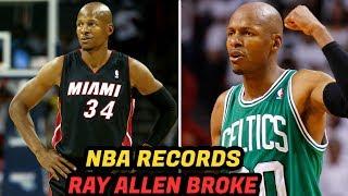 NBA Records RAY ALLEN Has Broken!