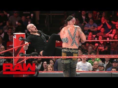 Xxx Mp4 Braun Strowman Vs Baron Corbin Tables Match Raw Feb 18 2019 3gp Sex