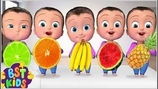 Fruits Song   Five Little Babies  +More BST Kids Songs & Nursery Rhymes