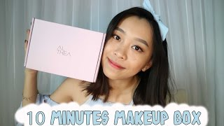 ALTHEA UNBOXING 10 MINUTES MAKEUP BOX || ENG SUB || CHIKEZIA