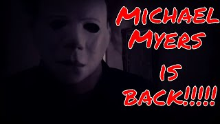 Michael Myers Stalks Princess Ella on Halloween
