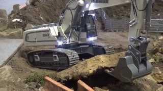 Liebherr 960 SME Demolition of a bridge