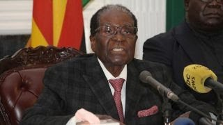 Zimbabwe president speaks, doesn