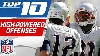 Top 10 Most High-Powered Offenses in NFL History   NFL Films