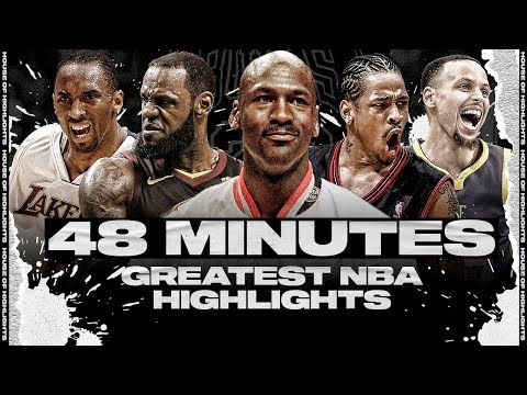 48 Minutes of the Greatest NBA Highlights to Keep You Entertained During Quarantine HD