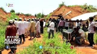 RGV's Killing Veerappan Movie Making Video - Shivaraj Kumar, Sandeep Bharadwaj