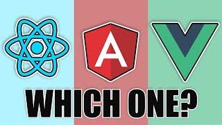 React.js vs Angular vs Vue
