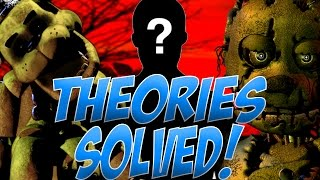 [SPOILERS] KILLER IS REVEALED! | Theories SOLVED | FNaF: The Silver Eyes Explained