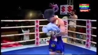 គូរម៉ារាតុងទី១កាលពីយប់មិញក្នុងពិធីបុណ្យអុំទូក Kham Klaneang vs Suphakhorn (Thai) 23/11/2018