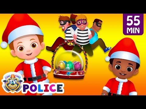 ChuChu TV Police Saving The Christmas Surprise Eggs Gifts More ChuChu TV Police Episodes