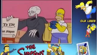 os Simpsons casa dos horrores 14 homer mata a morte.