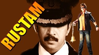 Rustom | Full Hindi Dubbed Action Movie |  Arjun Sarja |  Malasri