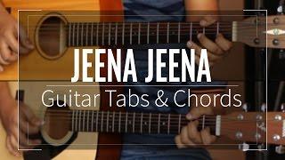 Jeena Jeena Guitar Tabs (Lead) & Chords (Lesson/Tutorial) Cover