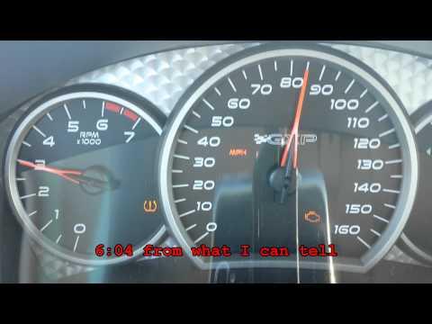 Pontiac Grand Prix GXP - 0-60 in Tap Shift
