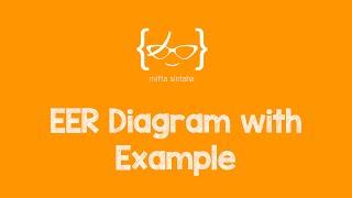 EER Diagram Example & Solution