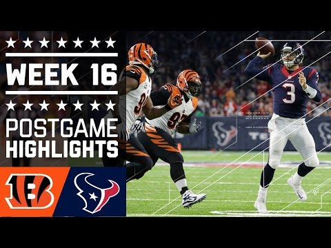 Bengals vs. Texans NFL Week 16 Game Highlights