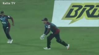 Al Amin Hossain s hat trick in BPL   BPL hat trick