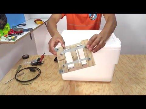 como hacer una incubadora casera efectiva 1ra parte