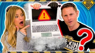 Laptop vs Liquid Nitrogen
