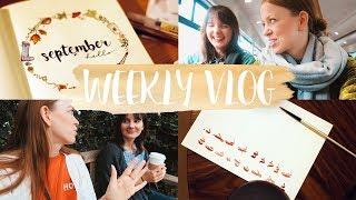 Herbstliebe, das 1. Bullet Journal Meet-Up & Freundinnenzeit! #WEEKLYVLOG