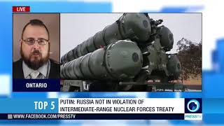 Putin: Russia will easily make new missiles if US ditches INF