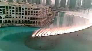 tip tip barsa pani dubai water show video