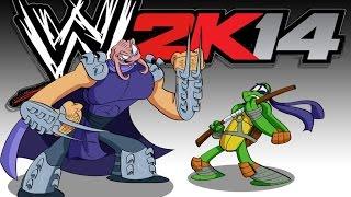 WWE 2K14 - TMNT Match (w/ Lui Calibre, H2O Delirious, and Daithi De Nogla)