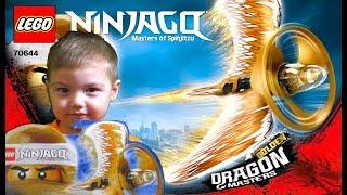 Lego Ninjago 70644 Золотой мастер дракона Golden Dragon Master обзор