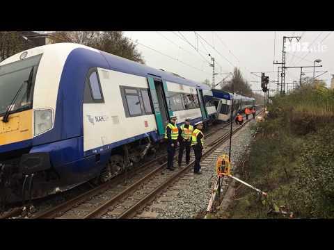 Zug entgleist am Bahnhof Elmshorn