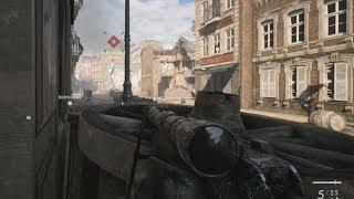 Battlefield 1 Online Sniper باتلفيلد 1 اونلاين - قناص - مدينة امينز - تعليق عربي