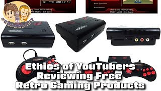 Ethics of Retro Game YouTubers Reviewing Free Products - #CUPodcast