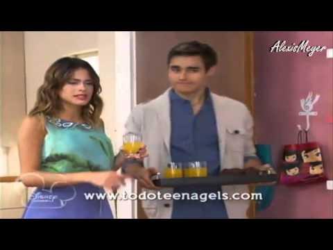 Violetta 2 Diego y Leon van a la casa de Violetta Capitulo 16