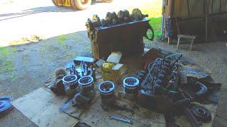 74-Д.(2С.). Сбор КШМ двигателя ММЗ Д-240 погрузчика ТО-30.