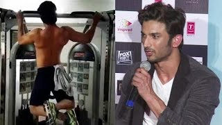 Sushant Singh Rajput Talks About His Injury And Workout For M.S.Dhoni Movie