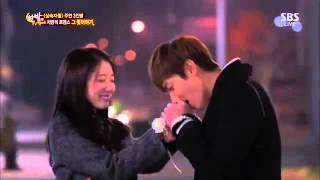 Lee Min Ho - Park Shin Hye hôn nhau làm Kim Woo Bin