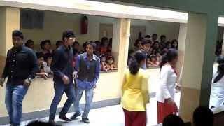 Barasat Indira Gandhi Memorial High School (Teachers Day 2013) - Kashmir to Kanyakumari (Class 10)