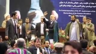 Former president Hamid Karzai full speeches at Rabbani 5th anniversary.