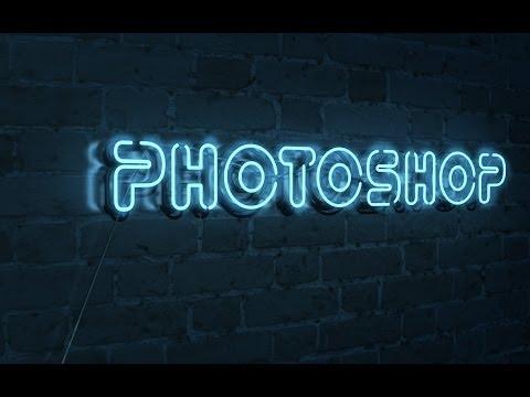 Как сделать неоновый фон в фотошопе