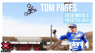 Tom Pages wins Moto X Freestyle gold | X Games Sydney 2018