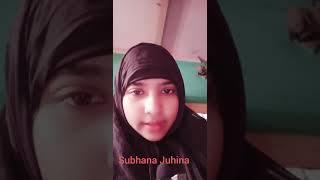 Subhana Juhina Live - Zindagi ek kirayeka ghar hai