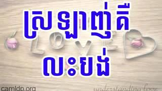 LDP   Love is Giving   khem veasna speech   khem veasna ldp 2014 low