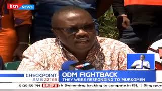 ODM respond to Murkomen's attacks