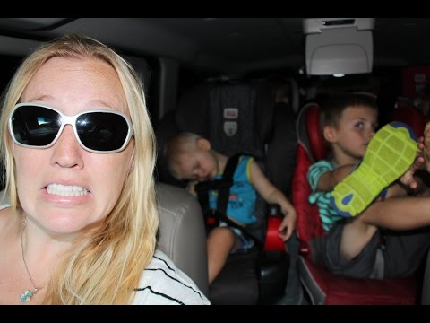 24 Hours With 5 Kids on a Road Trip