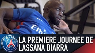 LA PREMIERE JOURNEE DE LASSANA DIARRA