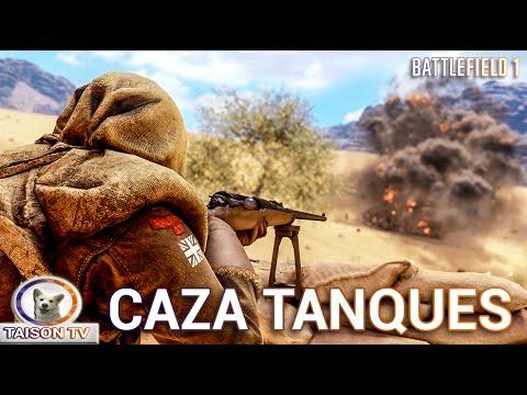 Battlefield 1 El Cazador de Tanques