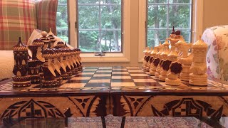 Unboxing: Expensive chess set